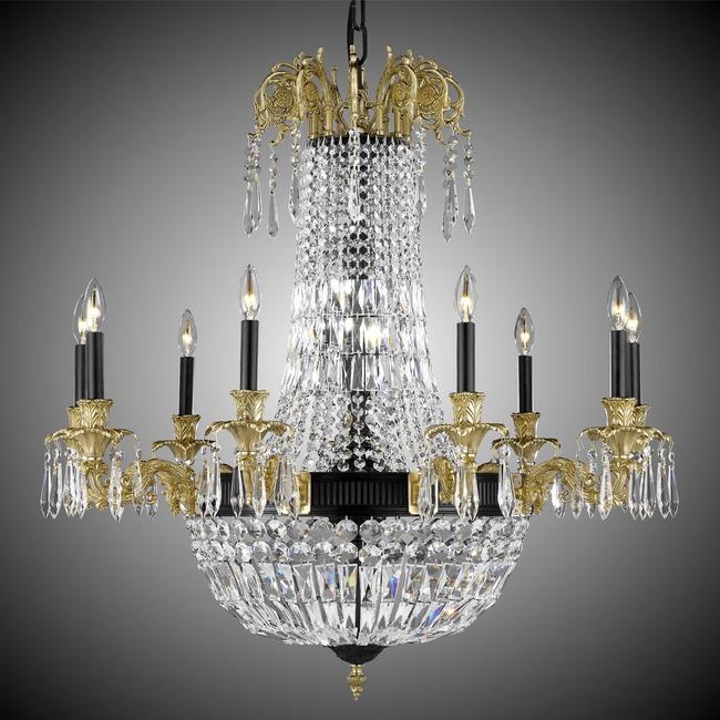 Finisterra Chandelier  by American Brass & Crystal