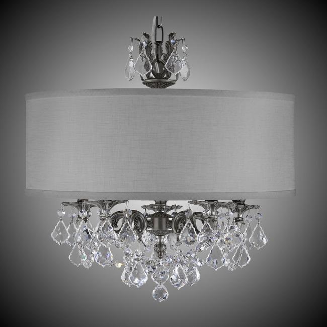 Llydia 5 Light Chandelier  by American Brass & Crystal