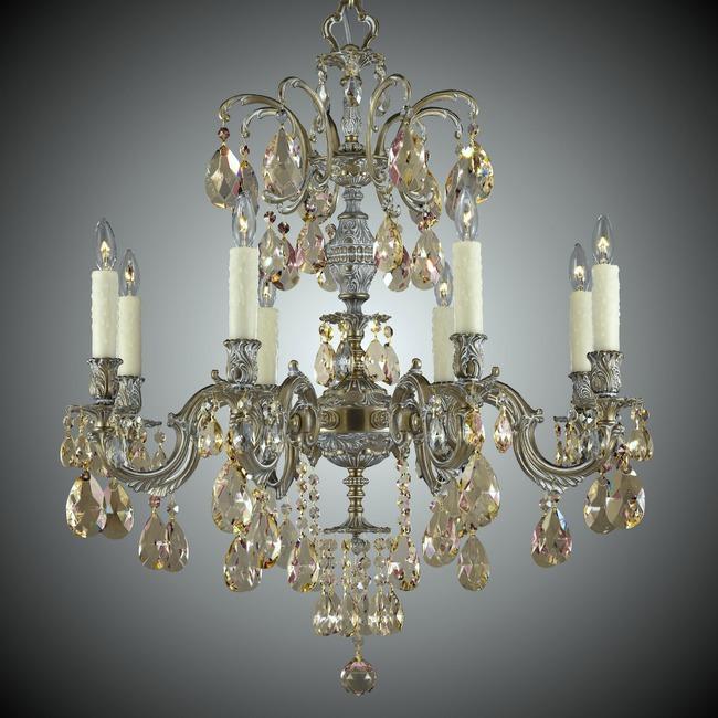 Marlena Chandelier  by American Brass & Crystal