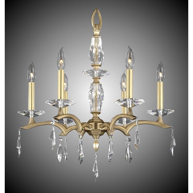 Kaya Chandelier  by American Brass & Crystal