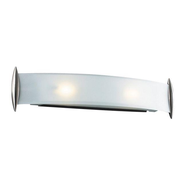 Scroll Bathroom Vanity Light  by PLC Lighting   1342-SN