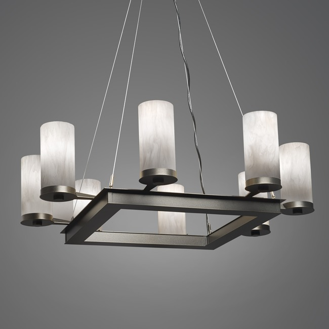 Radius Square Chandelier  by Ultralights
