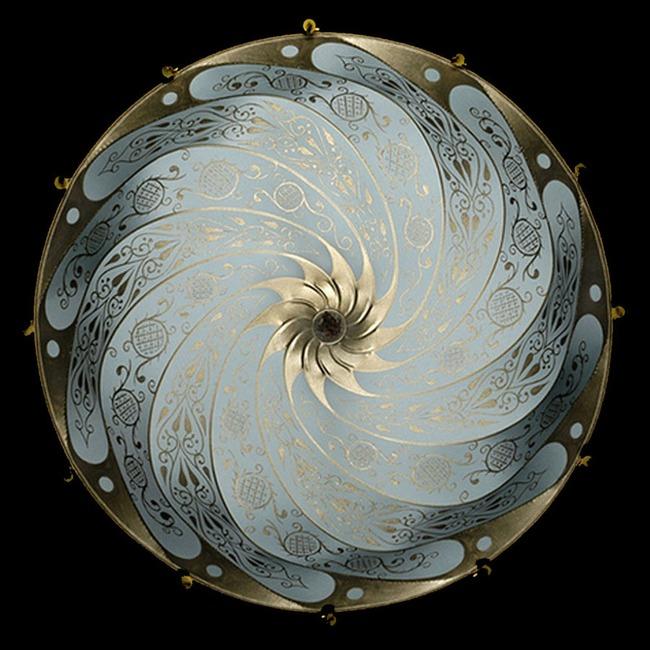 Scudo Saraceno Silk Pendant  by Venetia Studium