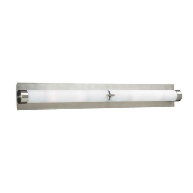 Polipo Bathroom Vanity Light with Endcaps by PLC Lighting | 916 SN