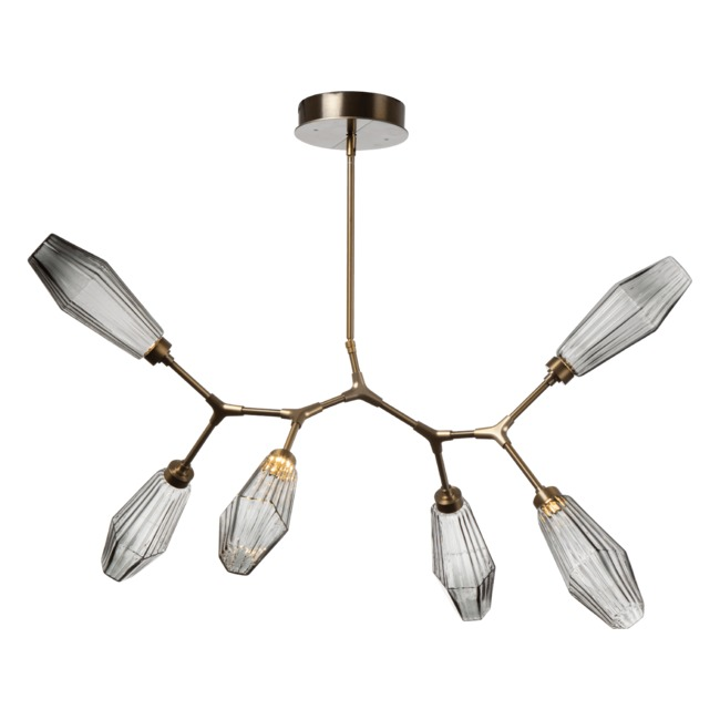Aalto 6 Light Modern Branch  by Hammerton Studio