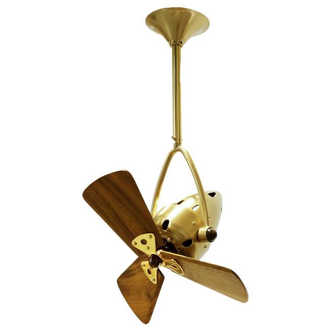 Jarold Directional Wood Ceiling Fan  by Matthews Fan Company