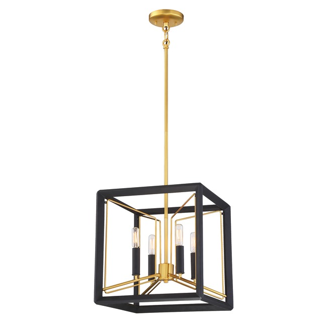 Sable Point Cube Pendant  by Metropolitan Lighting