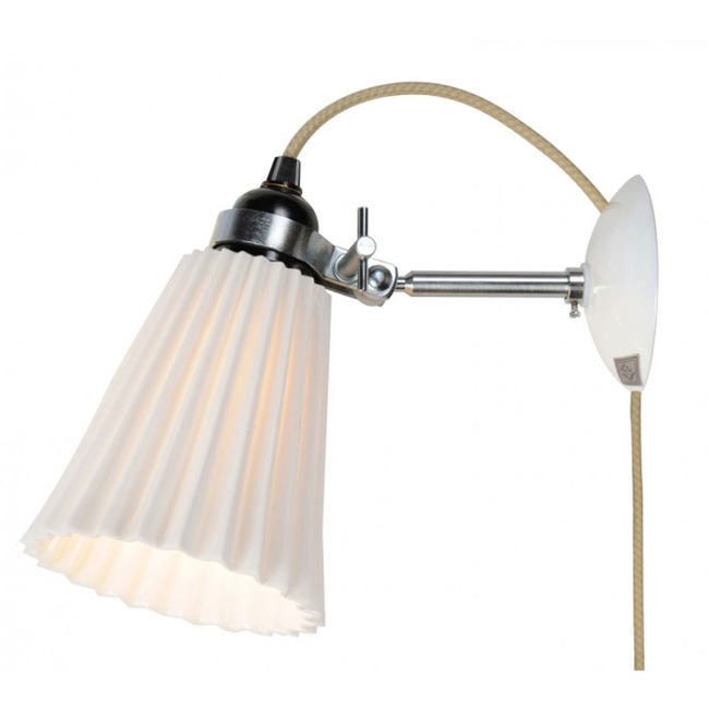 Hector Pleat Plug-in Wall Sconce  by Original BTC