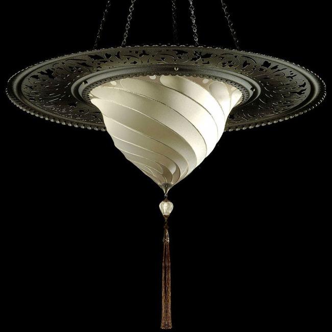 Samarkanda Silk Ring Pendant  by Venetia Studium