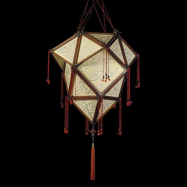 Concubina Proibita Silk Pendant  by Venetia Studium