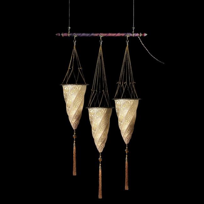 Cesendello Glass Rod Pendant  by Venetia Studium