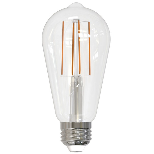 Filament ST18 Med Base 7W 120V 2700K 82CRI 2-PACK  by Bulbrite