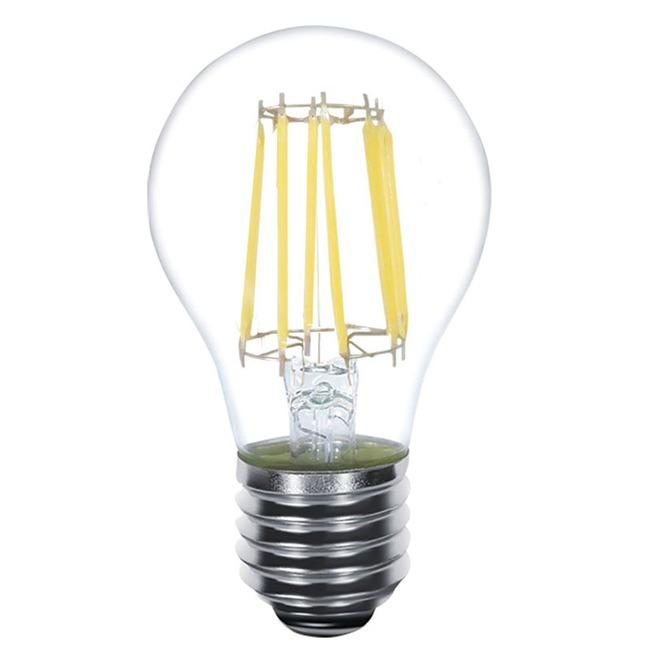 A19 Med Base Filament 6W 120V 2700K 82CRI 2-PACK  by Kodak LED Lighting