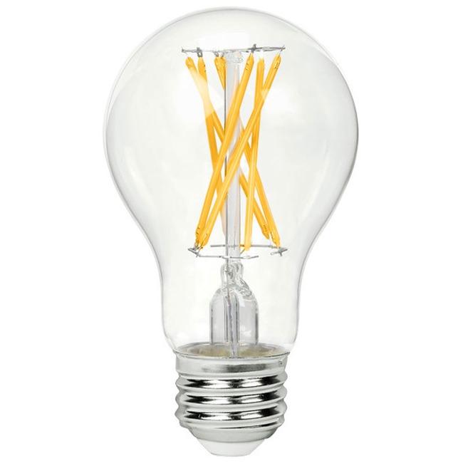 A19 Filament Med Base 9W 120V 2700K 90CRI 6-PACK  by Green Creative