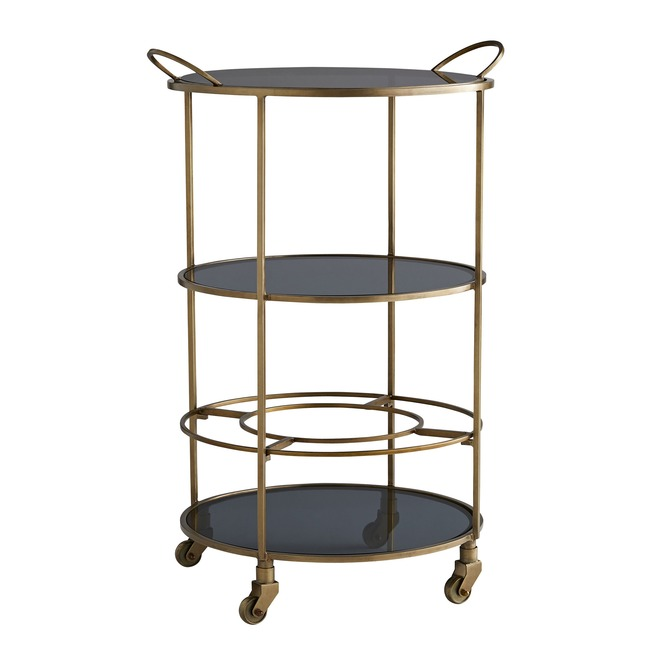 Crestwood Bar Cart  by Arteriors Home