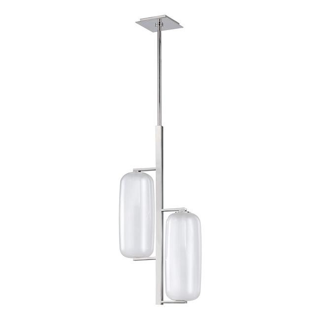 Pebble Tall Pendant  by Hudson Valley Lighting