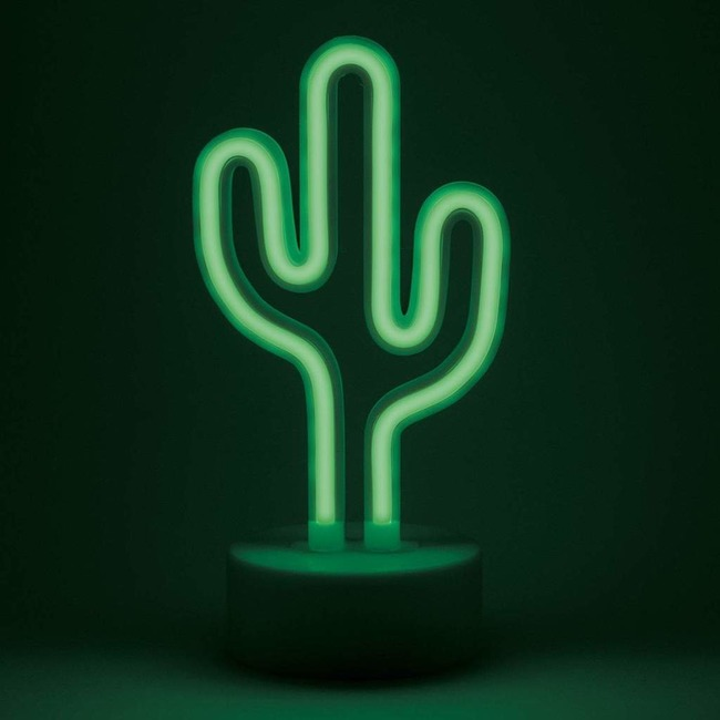 Mini Cactus Desk Lamp  by Amped & Co
