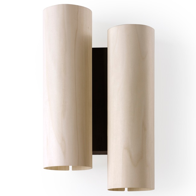 Black Note Duplet Wall Sconce  by LZF