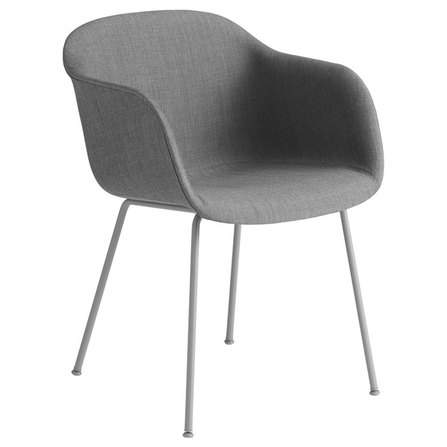 Fiber Armchair Tube Base Remix  by Muuto
