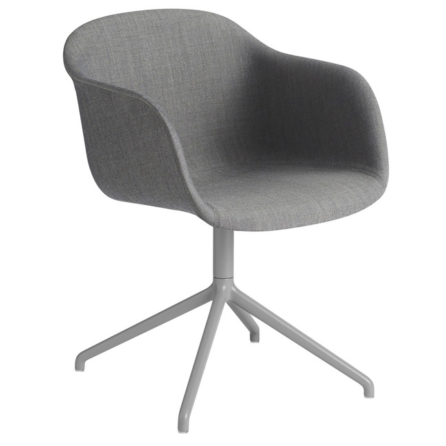 Fiber Armchair Swivel Base Remix  by Muuto