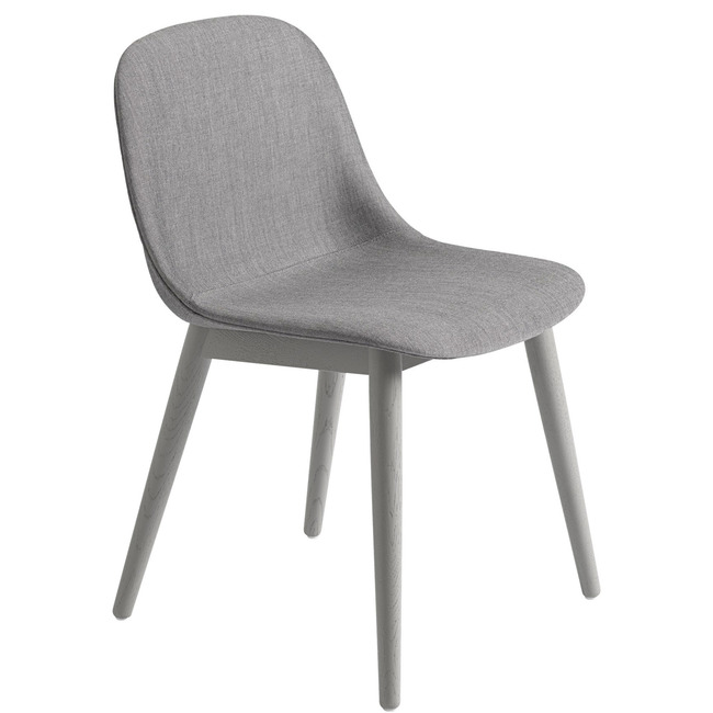 Fiber Side Chair Wood Base Remix  by Muuto