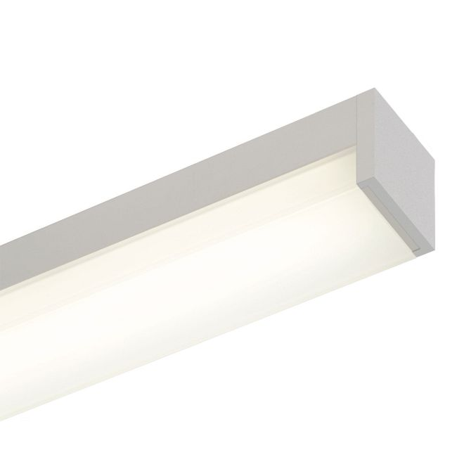 Cirrus Channel S1 Square Lens 2.5W by PureEdge Lighting | CC-S1-2WDC-12IN-27K-SA