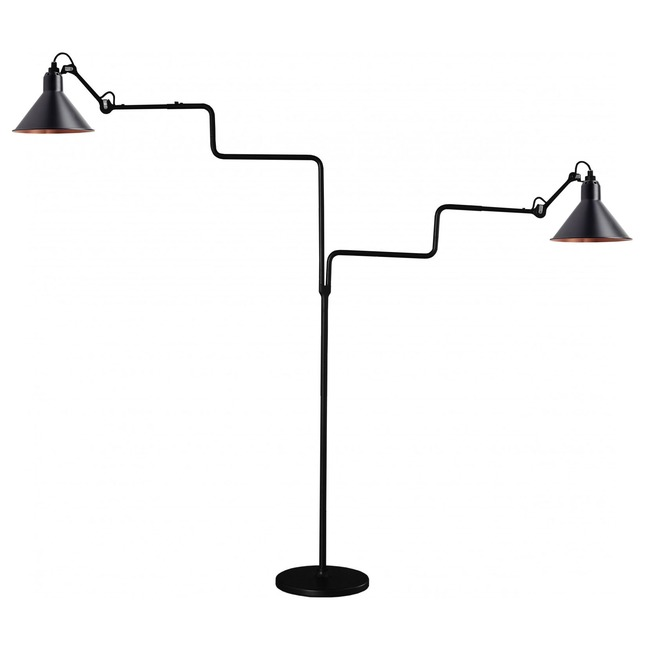 Lampe Gras N411 Double Conic Shade Floor Lamp  by DCW Editions