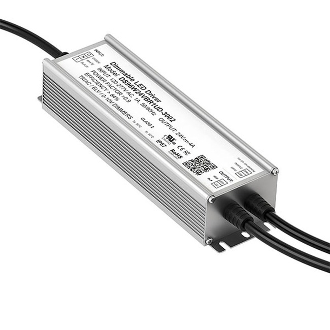 96W 24 Volt DC LED Power Supply  by PureEdge Lighting