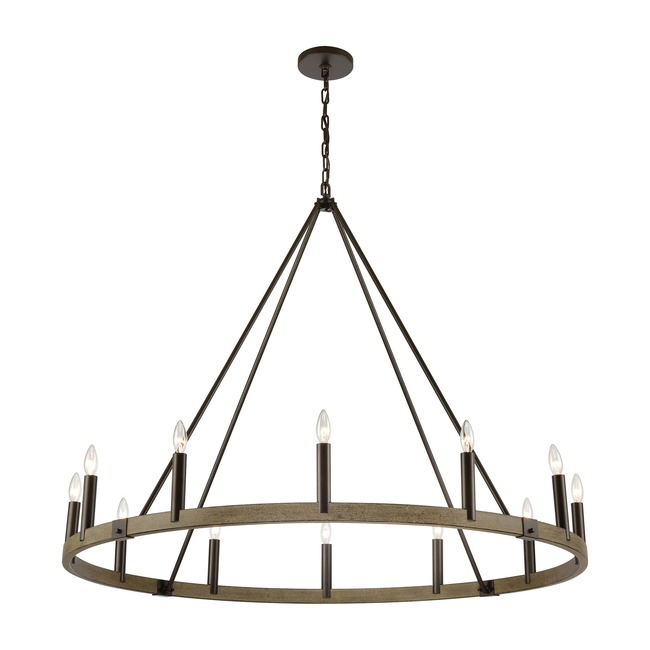 Transitions 12 Light Chandelier  by Elk Lighting
