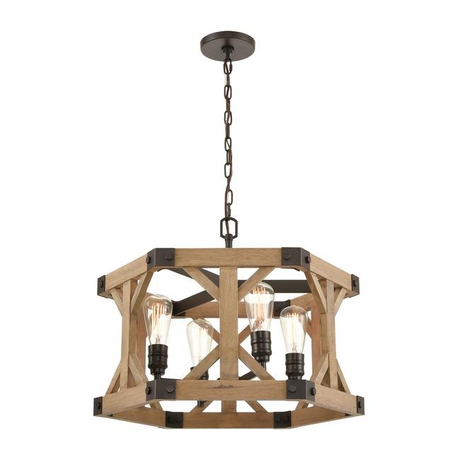 Structure Chandelier  by Elk Lighting