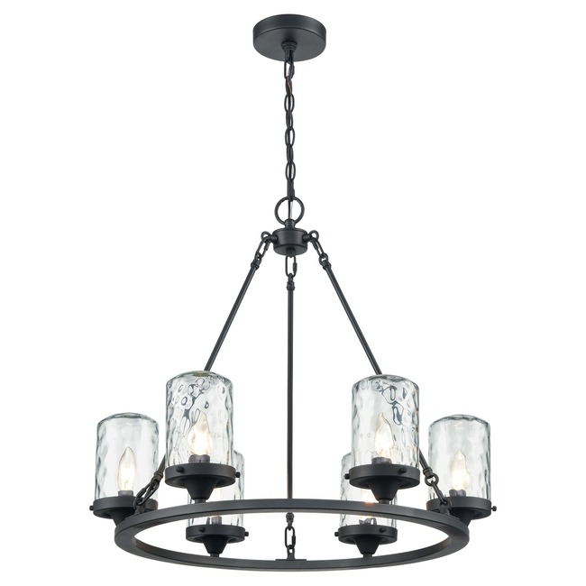 Torch Outdoor Chandelier  by Elk Lighting