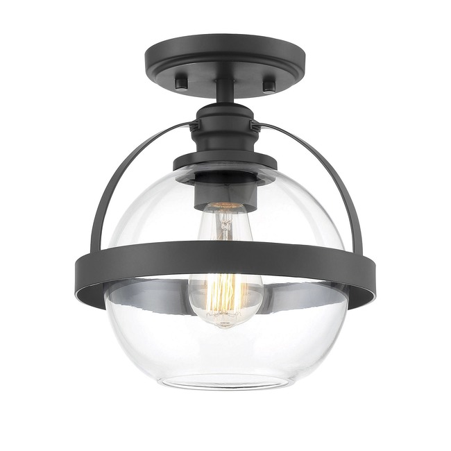 Pendleton Semi Flush Ceiling Light  by Savoy House