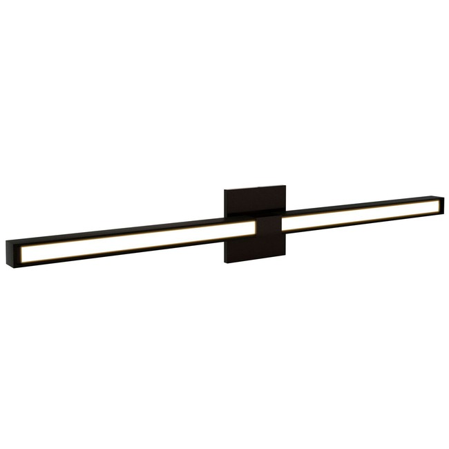 Tie Stix Wood Fixed Warm Dim Wall Light 33IN OPEN BOX  by PureEdge Lighting