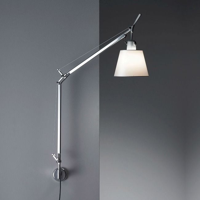 Tolomeo Shade Wall Light Plug In - OPEN BOX  by Artemide