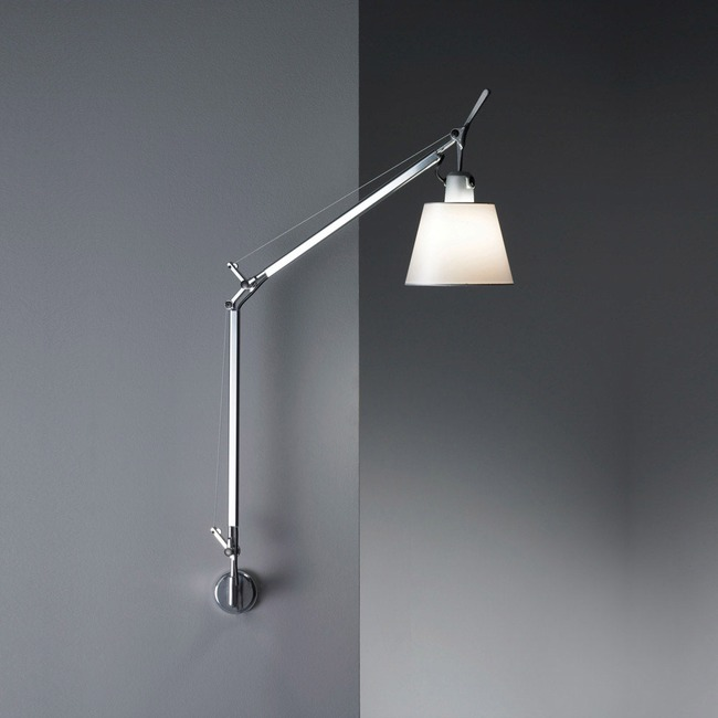 Tolomeo Shade Wall Light Hardwired  by Artemide