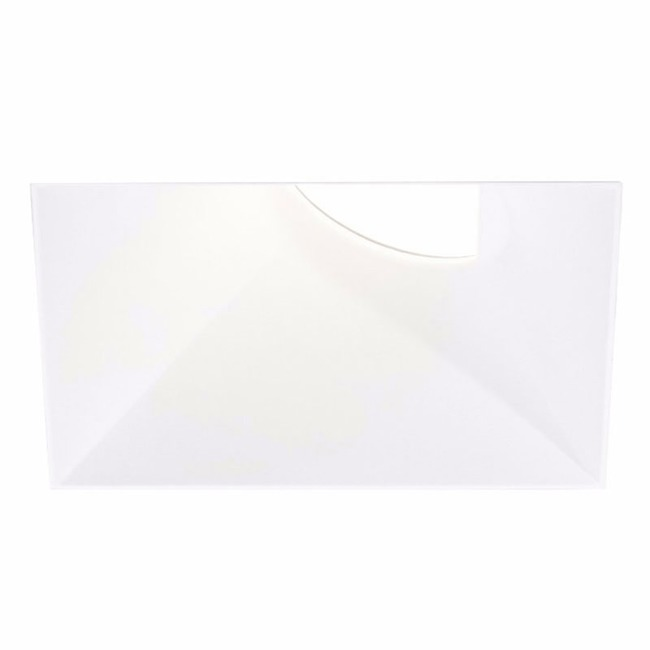 Ardito 4IN SQ Flangeless Wall Wash Trim - Open Box  by Contrast Lighting