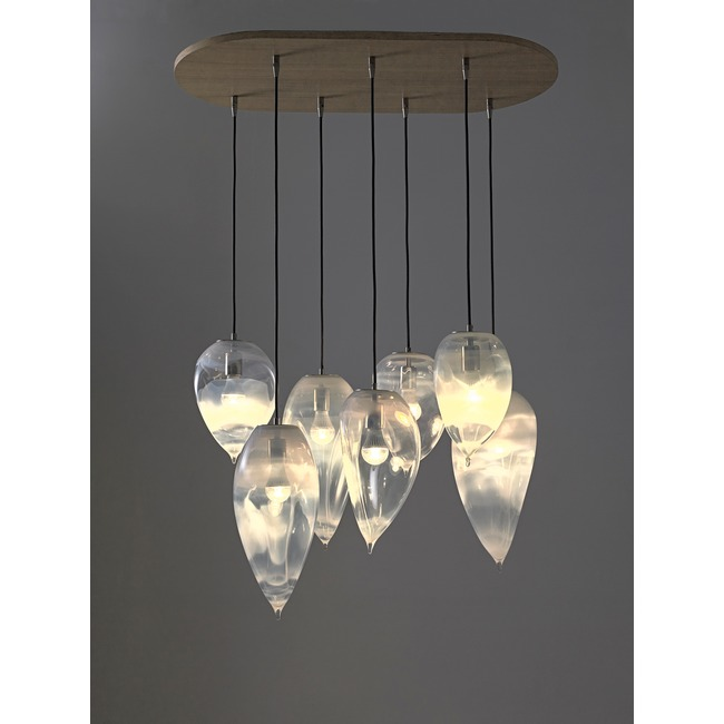 Rock Multi Light Pendant  by Jamie Harris Studio
