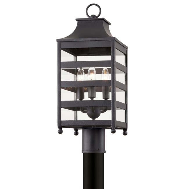 Holstrom Outdoor Post Mount  by Troy Lighting