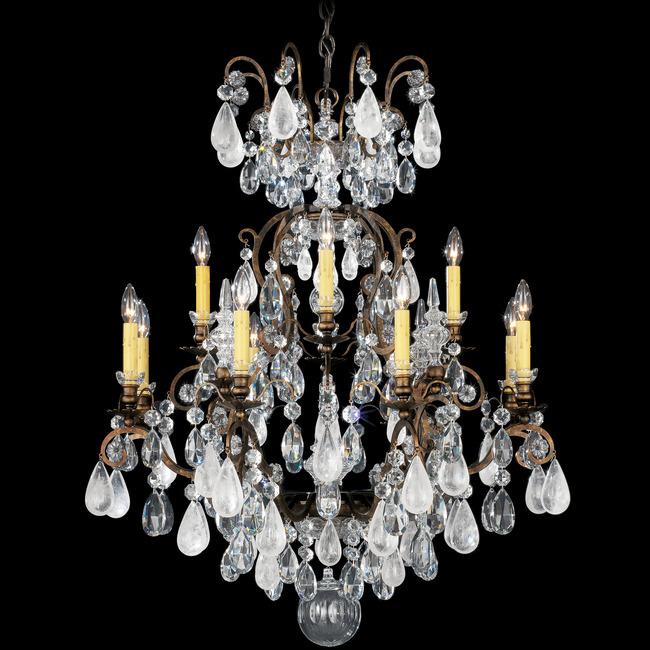 Renaissance Rock Crystal Chandelier  by Schonbek