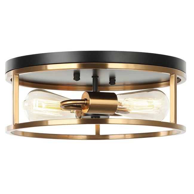 Clarke Round Flush Ceiling Light  by Matteo Lighting