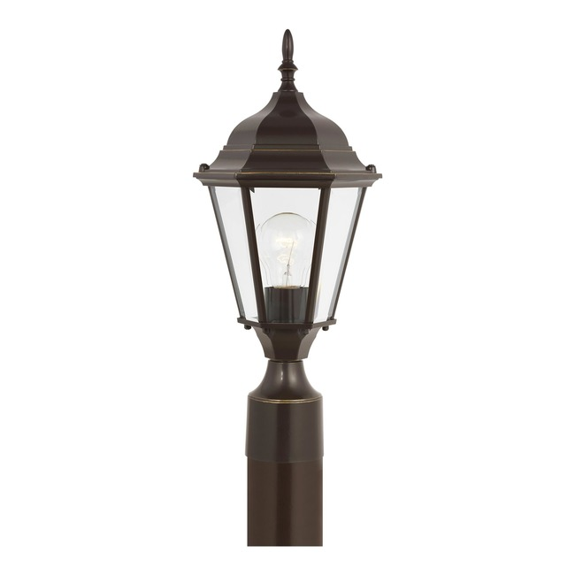 Bakersville Outdoor Post Mount  by Sea Gull Lighting