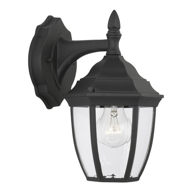 Bakersville Rounded Outdoor Wall Sconce  by Sea Gull Lighting