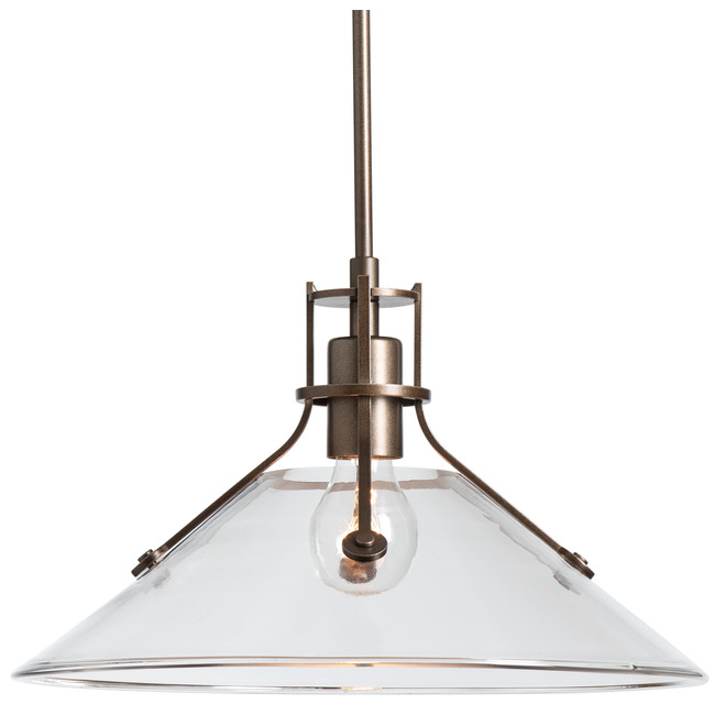 Henry Glass Outdoor Pendant  by Hubbardton Forge