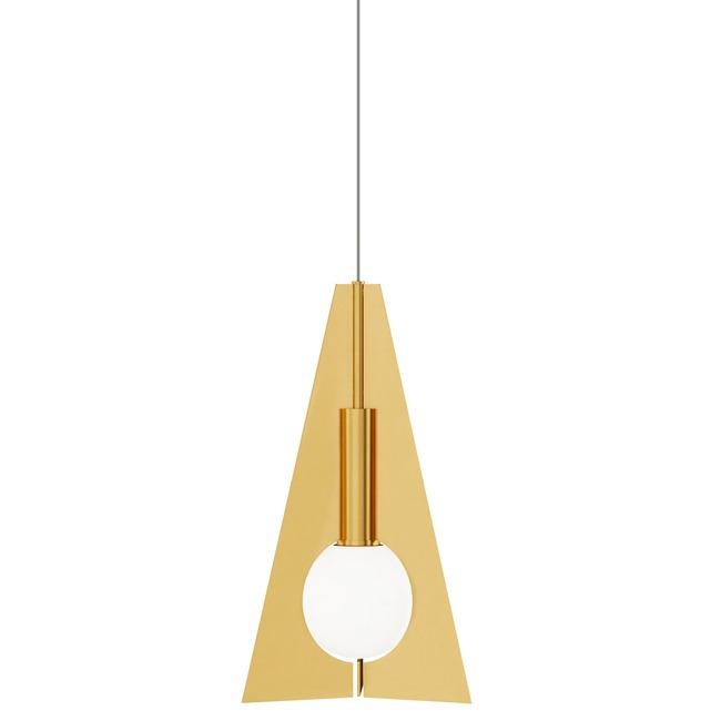 Orbel Pyramid Mini Monopoint Pendant  by Tech Lighting