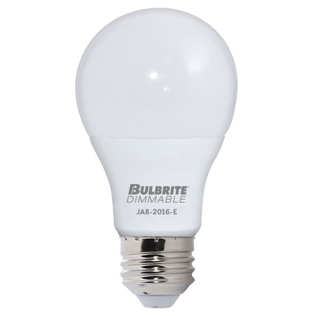 A19 Med Base 9W 120V 2700K 90CRI 4-PACK  by Bulbrite