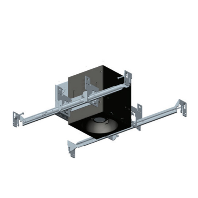 1X1 Trimmed Flangeless Chicago Plenum Non-IC Housing  by Element by Tech Lighting