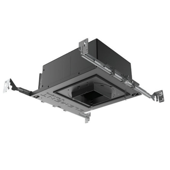 3IN SQ Flangeless Fixed New Construction IC Housing  by Element by Tech Lighting
