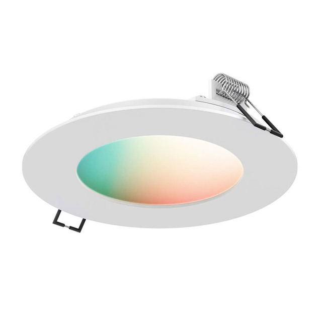 WiFi Smart 4IN RD RGB+W Recessed Panel Light  by DALS Lighting