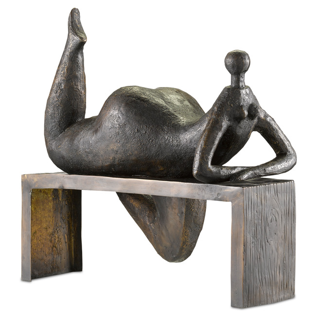 Odalisque Sculpture  by Currey and Company