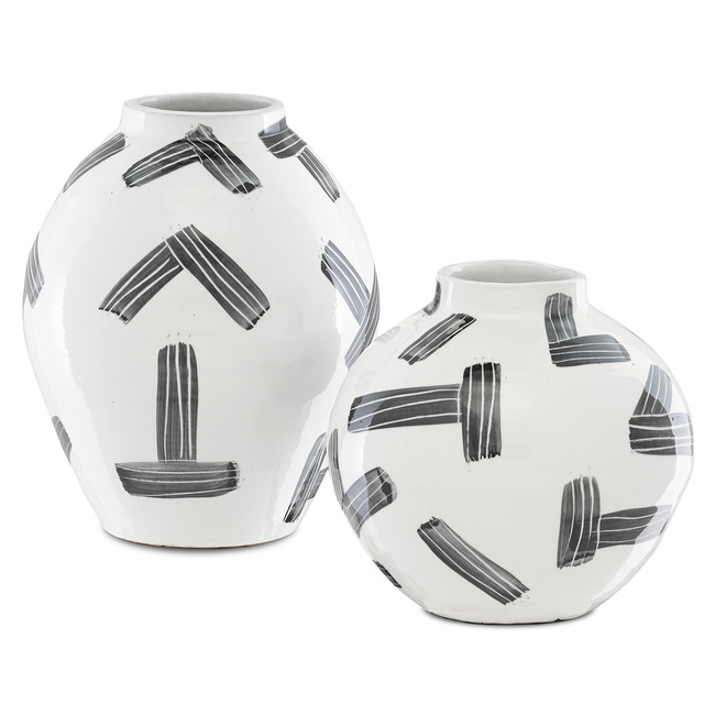 Cipher Vase  by Currey and Company